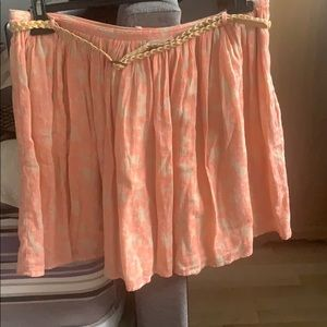 Perfect summer skirt lined cotton